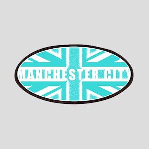 Manchester City Union Jack Patches