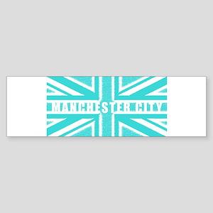 Manchester City Union Jack Sticker (Bumper)