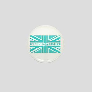 Manchester City Union Jack Mini Button