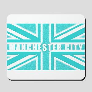 Manchester City Union Jack Mousepad