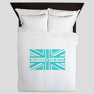 Manchester City Union Jack Queen Duvet