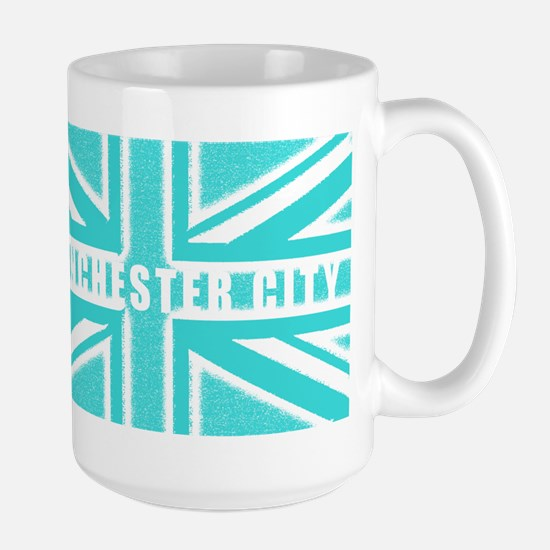 Manchester City Union Jack Large Mug