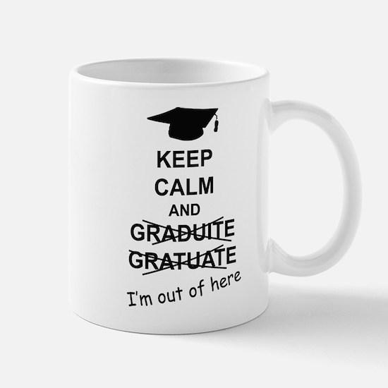 Keep Calm Graduate Mug