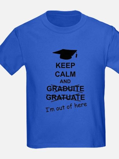 Keep Calm Graduate T