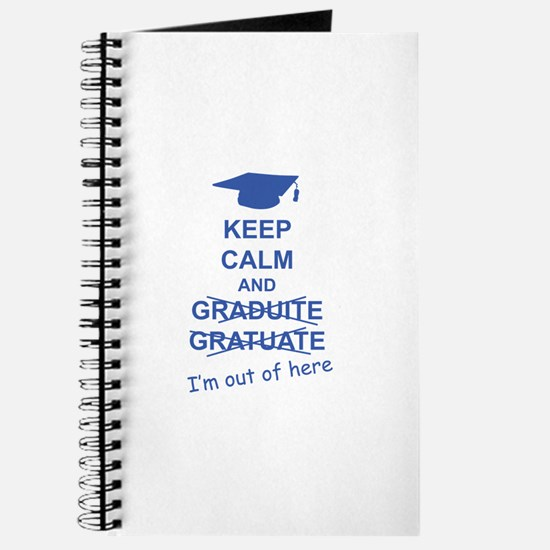 Keep Calm Graduate Journal