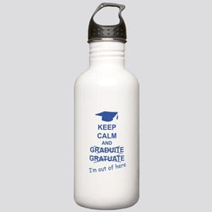 Keep Calm Graduate Stainless Water Bottle 1.0L