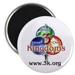 "3Kingdoms 2.25"" Magnet (10 pack)"