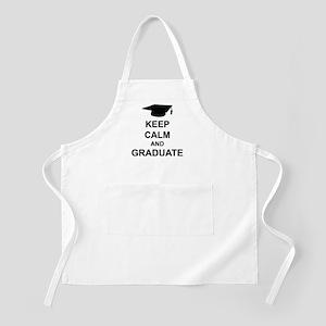 Keep Calm and Graduate Apron