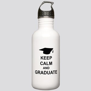 Keep Calm and Graduate Stainless Water Bottle 1.0L