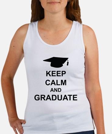 Keep Calm and Graduate Women's Tank Top