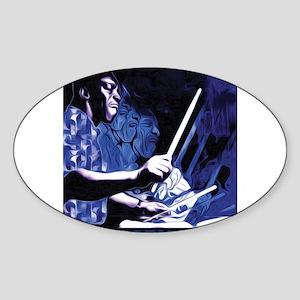 Art Blakey Sticker (Oval)