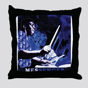 Art Blakey Throw Pillow
