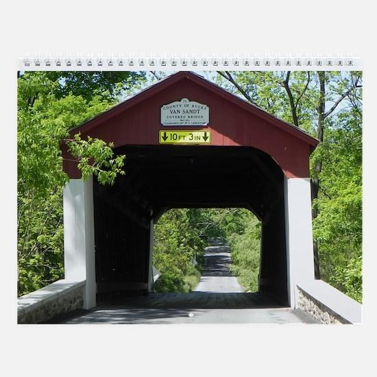 Bucks County Covered Bridges Wall Calendar