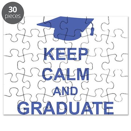 Keep Calm and Graduate Puzzle