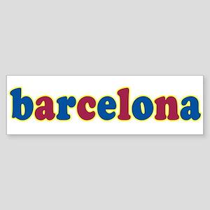 Barcelona Sticker (Bumper)