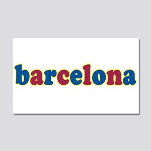 Barcelona Car Magnet 20 x 12