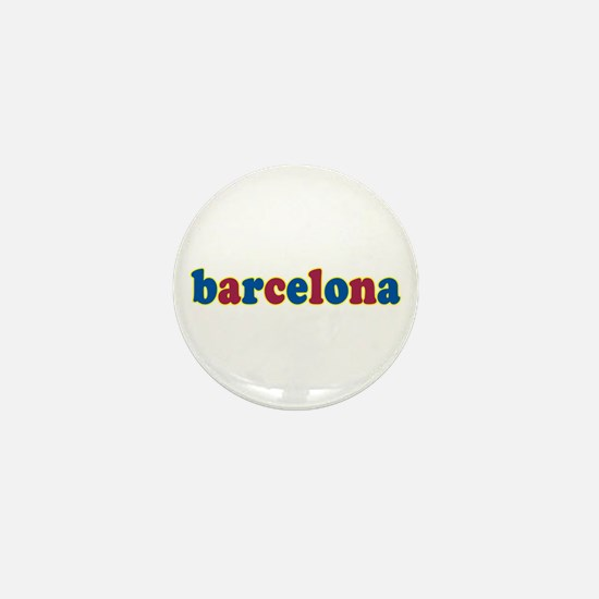 Barcelona Mini Button