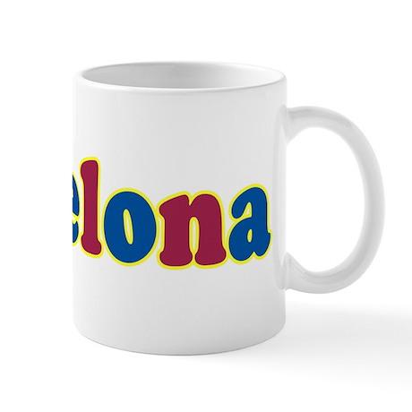 Barcelona mug by thisisfootball for Mug barcelona
