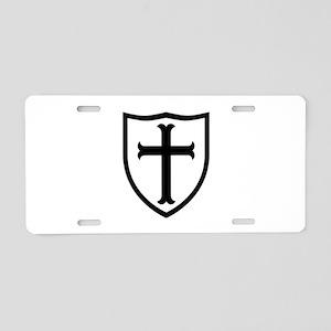 Crusaders Cross - ST-6 (2) Aluminum License Plate