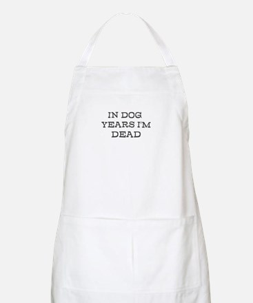 Dead in Dog Years Apron