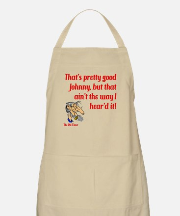 The Old Timer Apron