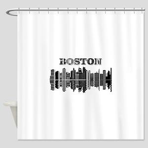 Boston City Shower Curtain