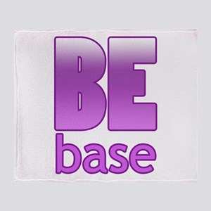 Be Base Throw Blanket