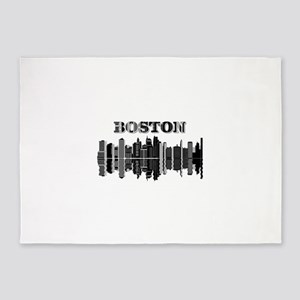 Boston City 5'x7'Area Rug