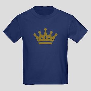 Golden crown Kids Dark T-Shirt