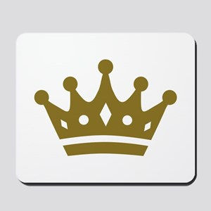 Golden crown Mousepad