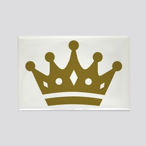Golden crown Rectangle Magnet