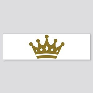 Golden crown Sticker (Bumper)