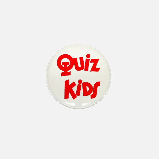 Quiz Kids Mini Button
