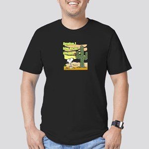 Cactus Home Men's Fitted T-Shirt (dark)