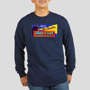 Shadow - Blue Coal #1 Long Sleeve Dark T-Shirt