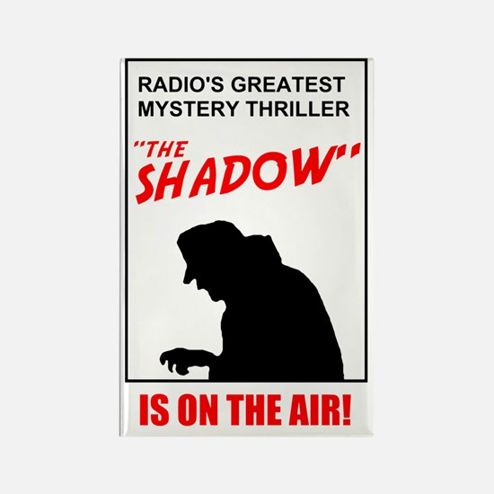 Shadow on the Air Rectangle Magnet