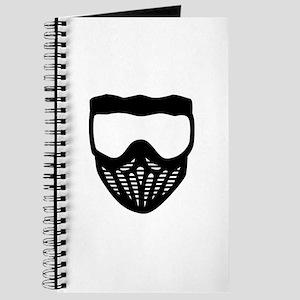Paintball mask Journal