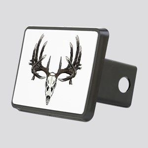 Big whitetail buck Rectangular Hitch Cover