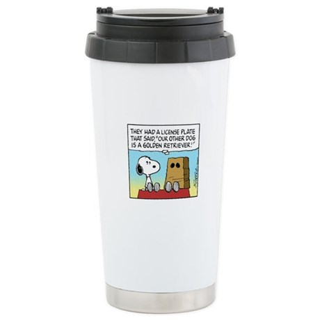 Other Dog Stainless Steel Travel Mug