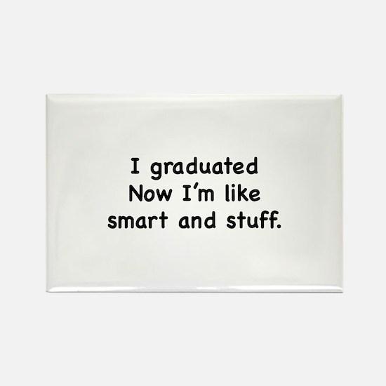 I Graduated Rectangle Magnet (10 pack)