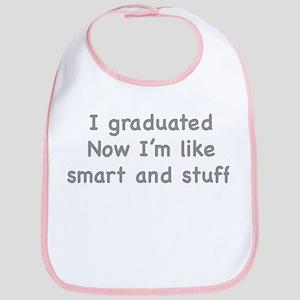 I Graduated Bib