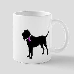 Blood Hound Breast Cancer Sup Mug