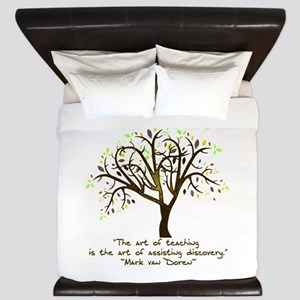 The Art Of Teaching King Duvet