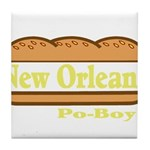 Poboy Tile Coaster