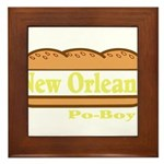 Poboy Framed Tile