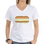 Poboy Women's V-Neck T-Shirt