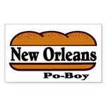 nolapoboy Sticker (Rectangle 10 pk)