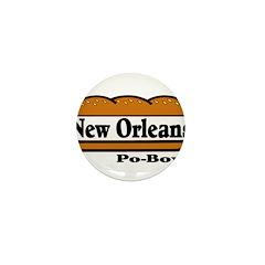 nolapoboy Mini Button (10 pack)
