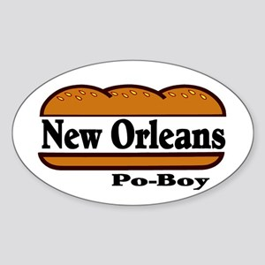 nolapoboy Sticker (Oval)