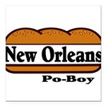 nolapoboy Square Car Magnet 3